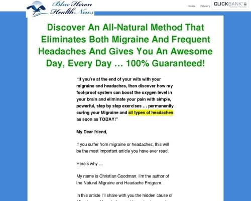 My Manic Migraine cb | Blue Heron Health News