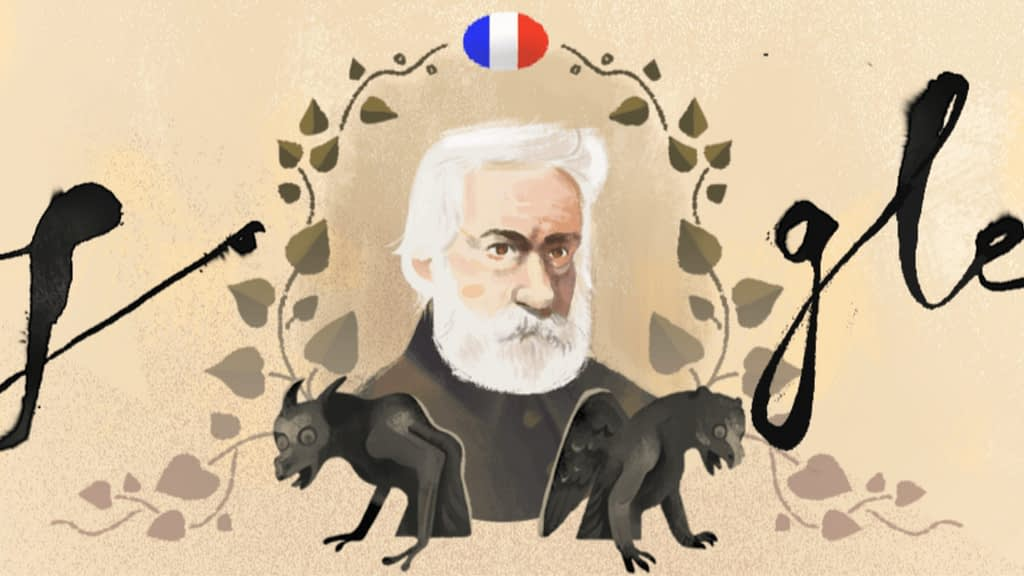 Victor Hugo doodle