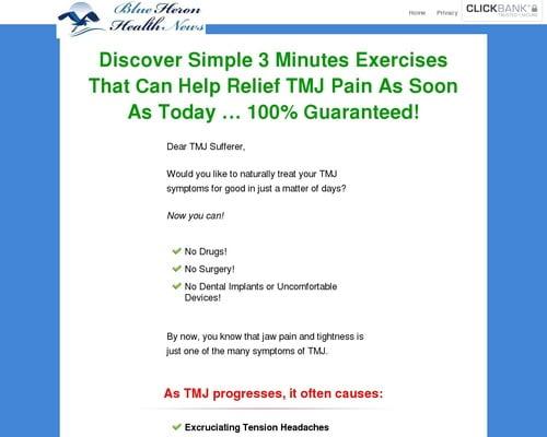 The TMJ Solution vsl cb   Blue Heron Health News