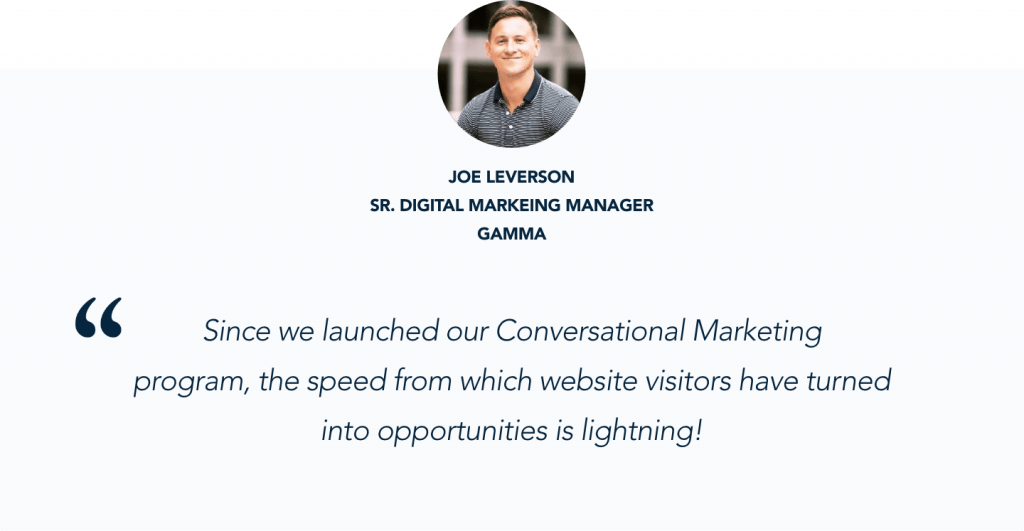 How Gamma Increased Website Conversions by 33% with Pardot + Qualified