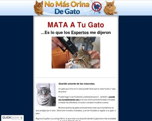 No Mas Orina De Gato - Como hacer que tu gatos deje de orinar fuera de su cajita!