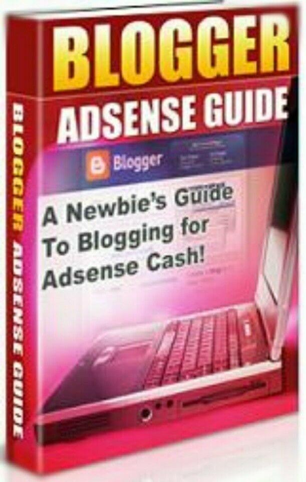 [FREE SHIP] Blogger Adsense Guide A Newbies Guide To Blogging For Adsense Cash