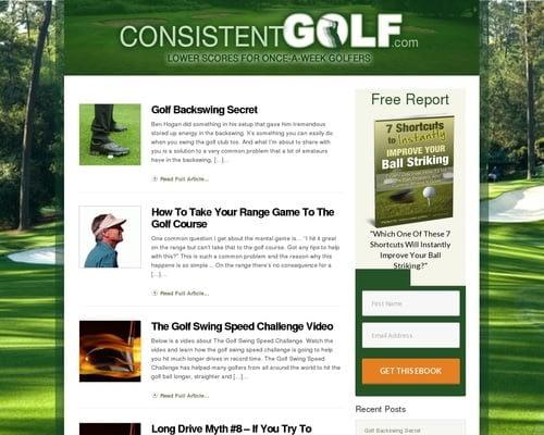 ConsistentGolf.com