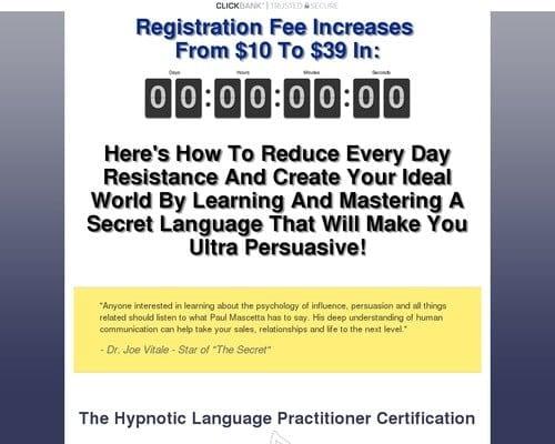 Hypnotic Language Practitioner
