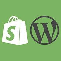 shopify wordpress sudfolder subdirectory